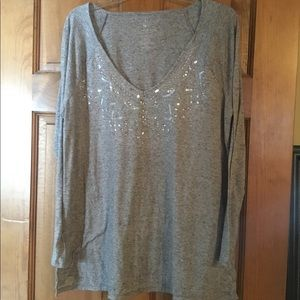 Juicy Couture long sleeved casual top with accents